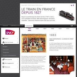 aleyna.Depuis la première ligne de chemin de fer en 1827, le train a connu péripéties humaines, défis technologiques, révolutions culturelles... Découvrez l'histoire du train et de ceux qui le font.