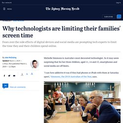 Why technologists are limiting their families' screen time