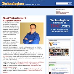 About Technologizer & Harry McCracken