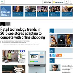Retail technology trends in 2015 see stores adapting to compete with online shopping