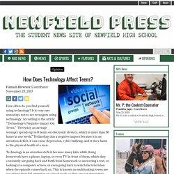 How Does Technology Affect Teens? – NHSPress