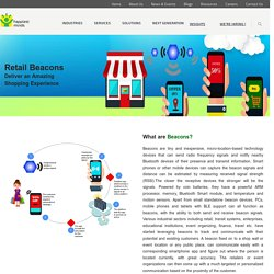 Beacon technology,retail,New Shopping Trends – Happiest Minds