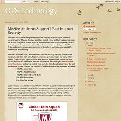 McAfee Antivirus Support