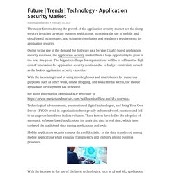 Technology - Application Security Market – Telegraph