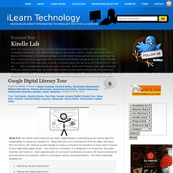 Google Digital Literacy Tour