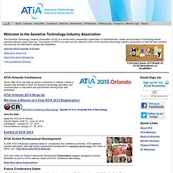 Assistive Technology Industry Association (ATIA)