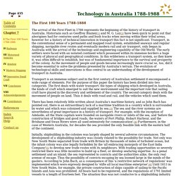 Technology in Australia 1788-1988, Chapter 7, page 435