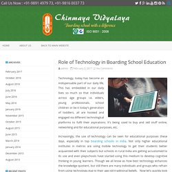 Role of Technology in Boarding School Education