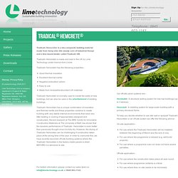 Lime Technology - lime-based building products