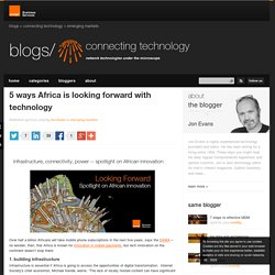 5 ways Africa is looking forward with technology