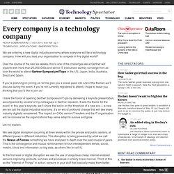 Every company is a technology company