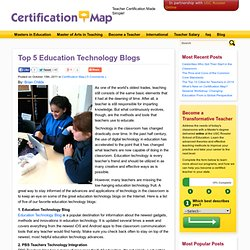 Top 5 Education Technology Blogs | Certification Map
