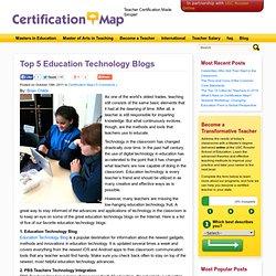 Top 5 Education Technology Blogs