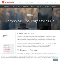 Technology Challenges for SMEs - Unleashed Software