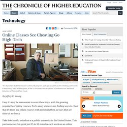 Online Courses Can Offer Easy A's via High-Tech Cheating - Technology
