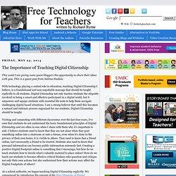 The Importance of Teaching Digital Citizenship
