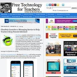ClassDojo Launches a Messaging Service to Help Teachers Keep Parents Informed
