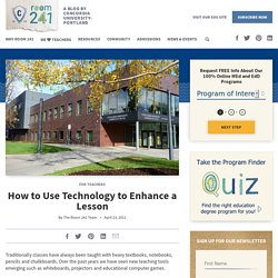 How to Use Technology to Enhance Your Classroom : Concordia Masters of Education