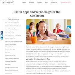 Useful Apps and Technology for the Classroom