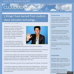 CLOUDUCATION