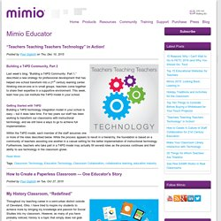 Classroom Technology Blog