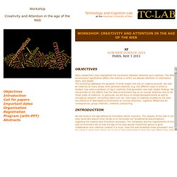 Technology and Cognition Lab - IIIT collaboration