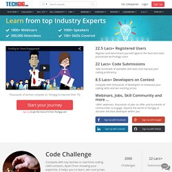 Technology & IT Community in India | Tech News | IT Jobs | TechGig.com