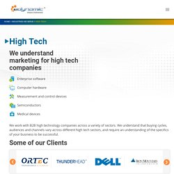 Digital Marketing for High Tech Companies