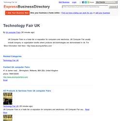 Technology Fair UK