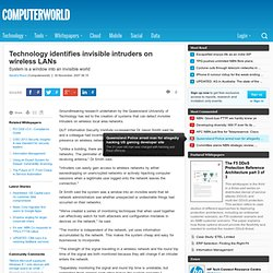 Technology identifies invisible intruders on wireless LANs