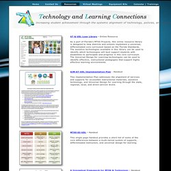 Technology & Learning Connections