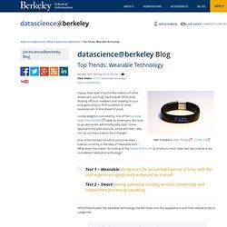 Top Trends: Wearable Technology - datascience@berkeley