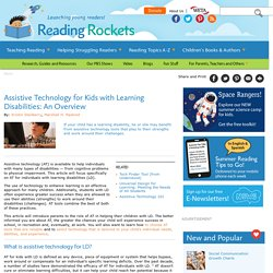 What types of Learning Problems does Assistive Technology address?