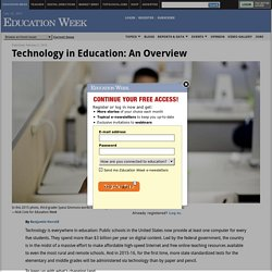 Research Center: Technology in Education