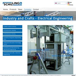 Industry and crafts - lifting technology in the field of electrical engineering
