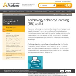 Technology-Enhanced Learning Toolkit by the HEA