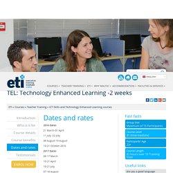 TEL-Technology Enhanced Learning- ICT Skills Teacher Training-ETI Malta : ETI Malta