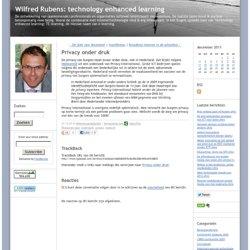 Wilfred Rubens: Privacy onder druk