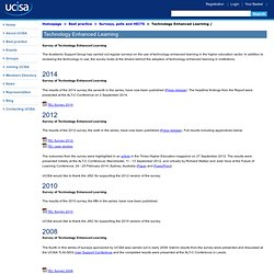 UCISA Technology Enhanced Learning