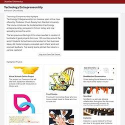 Technology Entrepreneurship