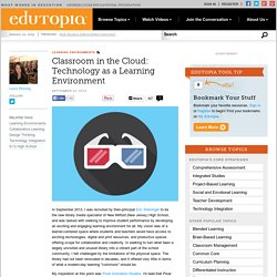 Classroom in the Cloud: Technology as a Learning Environment