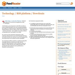 Technology / RSS platform / Newsbrain