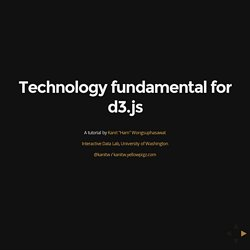 Technology Fundamental for d3