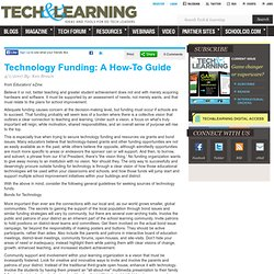 Technology Funding: A How-To Guide
