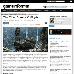 The Technology Behind The Elder Scrolls V: Skyrim - The Elder Scrolls V: Skyrim - Xbox 360