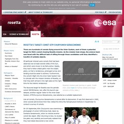 Rosetta's target: comet 67P/Churyumov-Gerasimenko