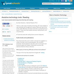 Reading - Assistive Technology