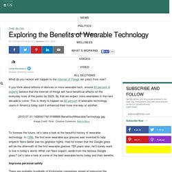 Exploring the Benefits of Wearable Technology