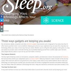 How Technology Impacts Sleep Quality