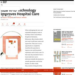 How RFID Technology Improves Hospital Care